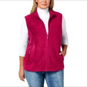 Karen Scott Plus Size ZeroProof Fleece NEW